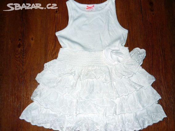 Prodám bílé šaty s krajkovými kanýry zn.Nextvel.3 - Žatec bee813eec7