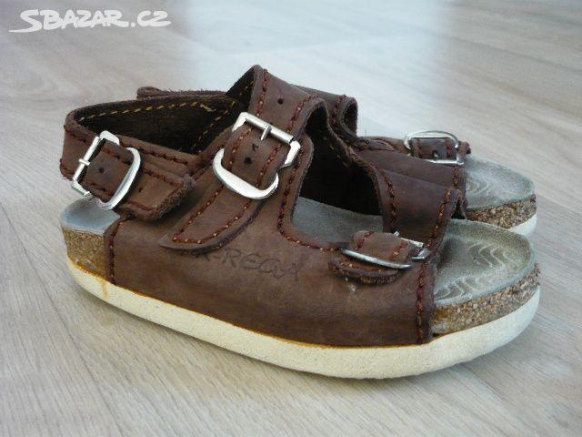 Dětské kožené zdravotní sandálky PK-REGA vel. 21 76faa705c4