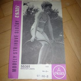 c1474ebdc26 Prodám návod na háčkované dívčí plavky