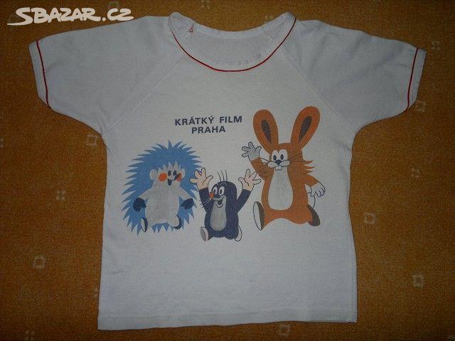 eb1db3539e7 Prodám dětské tričko s krtečkem.Velikost jsem - Třebechovice pod ...