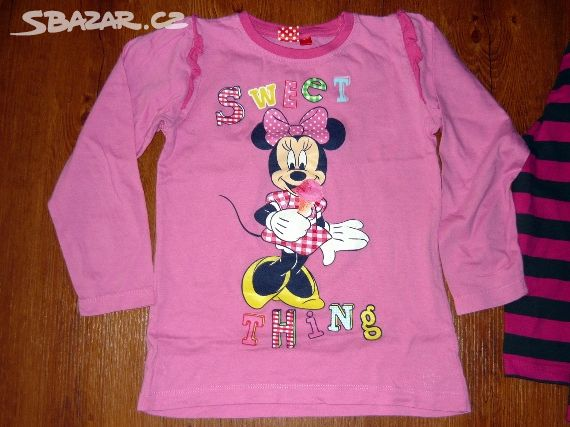 Prodám 2 dívčí trička s dlouhým rukávem - Žatec b6b19dee44