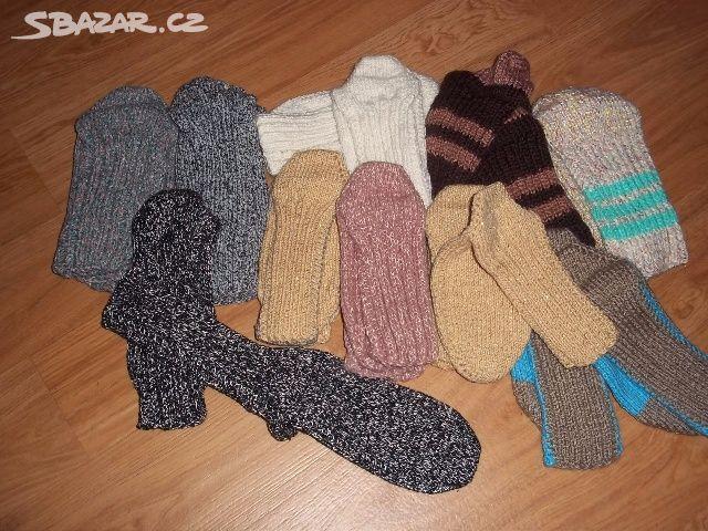 Prodám ručně pletené ponožky.Několik párů dámských - Libochovice ... 0561b21a65