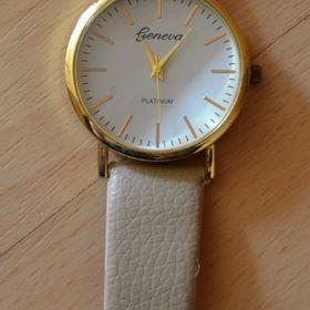 Béžové hodinky Geneva.Nové.Průměr  3 25c6204f98