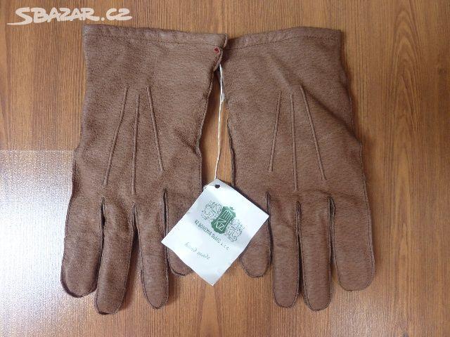 NOVÉ kožené pánské rukavice cc56033445