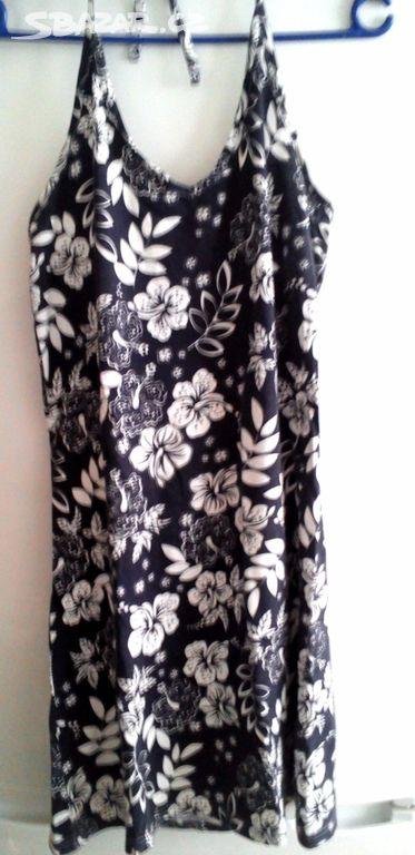 Prodám letní šaty na zavazování za krkem a6327e6e3c