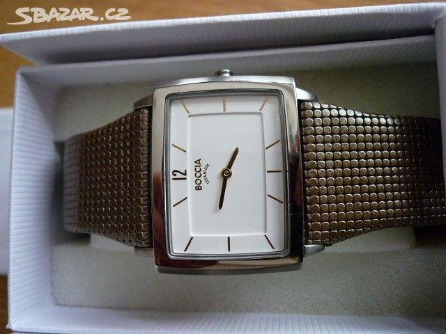 Prodám ZCELA NOVÉ elegantní dámské hodinky Boccia - Praha - Sbazar.cz 04234d13c8
