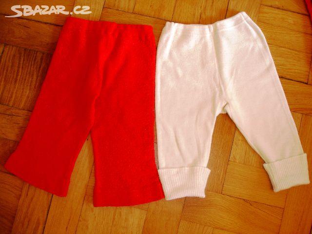 e31400cac13 Červené teplé vlněné kalhoty vel. 80 - Brno - Sbazar.cz