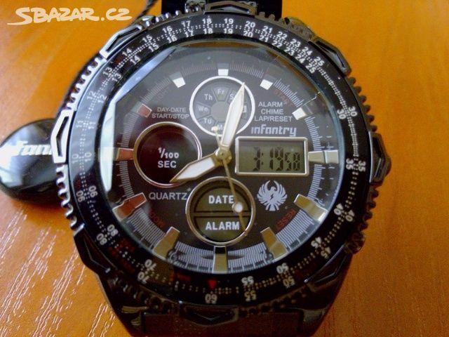 Pánské luxusní značkové hodinky Infantry - Kladno - Sbazar.cz e39a62bfa5