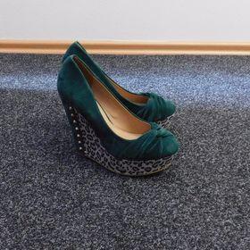 20ab0790073 Taneční boty BÁBOR látka podpatek 7