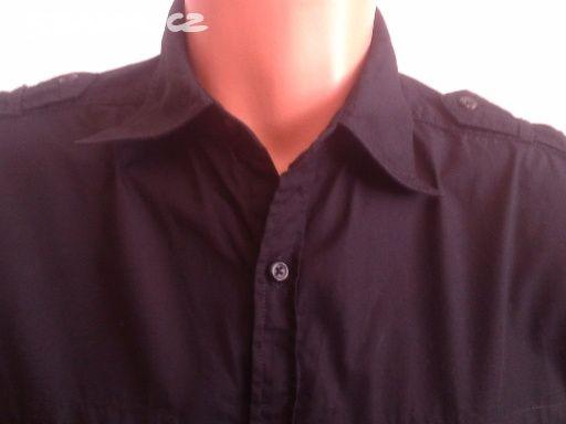 Pánská černá košile Next  977b7037a9
