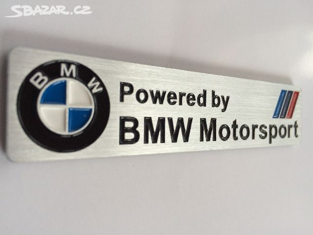 d856bf1bbe Logo Powered by BMW motorsport - Ostrava - Sbazar.cz
