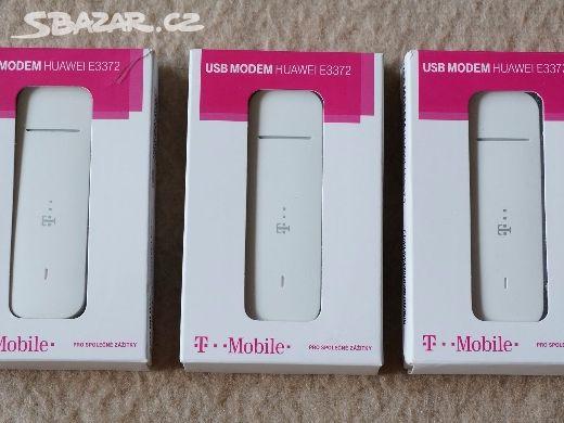 LTE 4G USB modem HUAWEI E3372 - NEBLOKOVANÝ