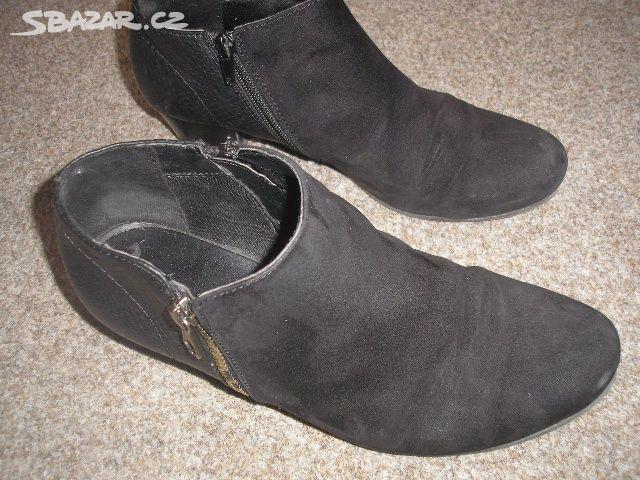 Kotníčkové boty na donošení - Turnov ccd86895d2