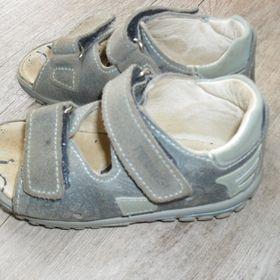 Kožené sandále   bačkůrky Boots4U e94a0bd009d