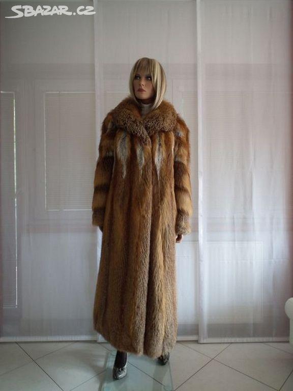 Dlouhý kožich z červené lišky - Kyjov 545055dc0c