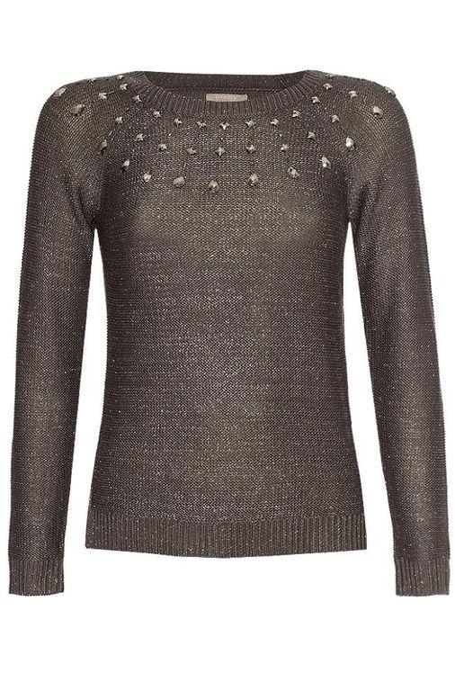 Krásný metalický svetr Orsay - Nymburk - Sbazar.cz ec525daa07