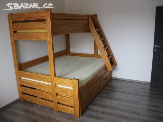 d5de3d9129df Prodám novou patrovou rozšířenou postel ze 4cm - Horní Benešov ...