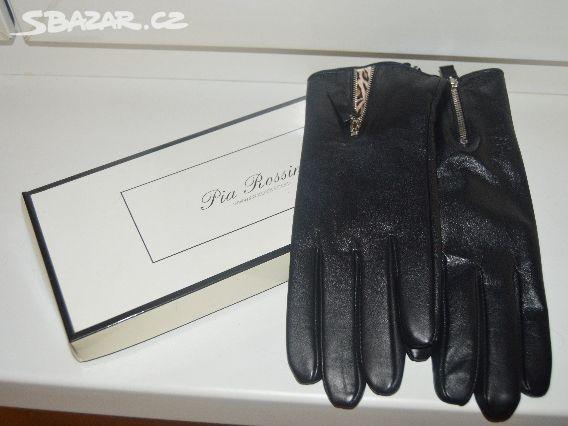 3e78e2f23fa dámské kožené rukavice zn. Pia Rossini - Praha - Sbazar.cz