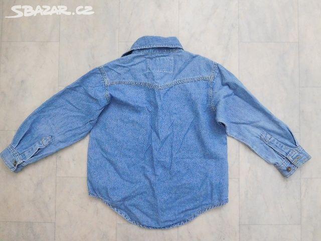 chlapecká riflová košile - Hronov 68655eab2f