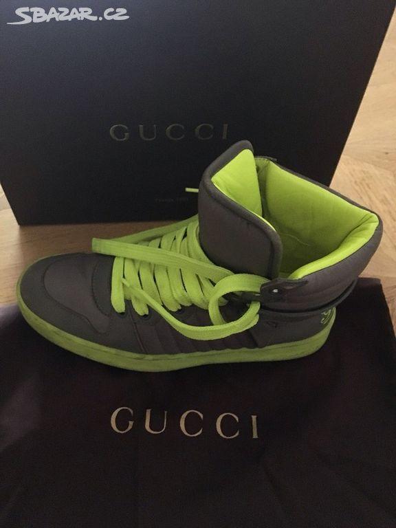 Gucci tenisky - Tábor - Sbazar.cz cc29842e90