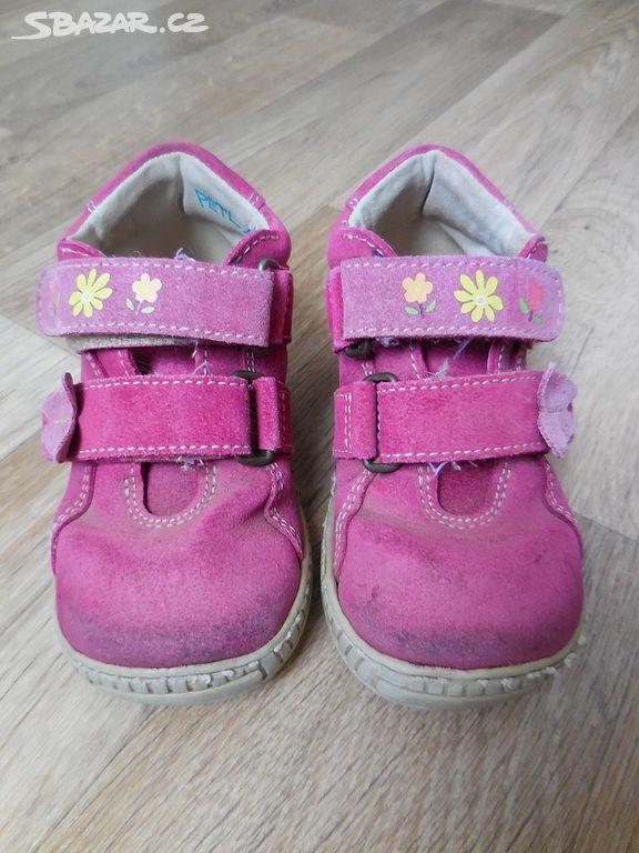 Kožené boty 24152f3e77