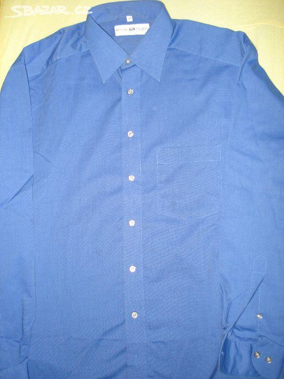 Pánská košile modrá - Royal Class. Nová.  fc996a9ed6