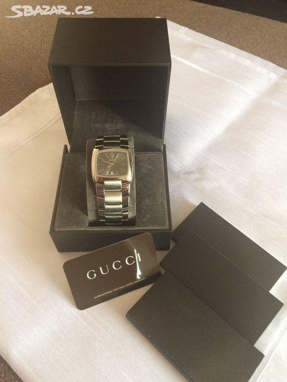 b5148abe0 Pánské náramkové hodinky GUCCI. Prodám nové - Beroun - Sbazar.cz