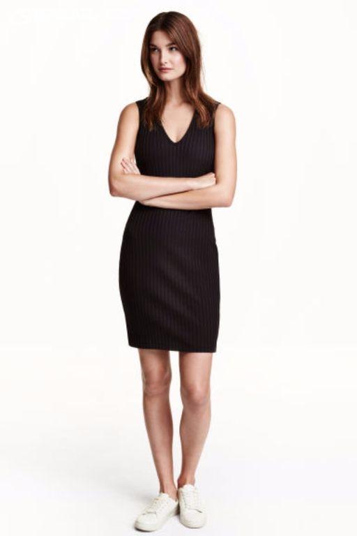 černé dámské šaty H M 1dba47e28f