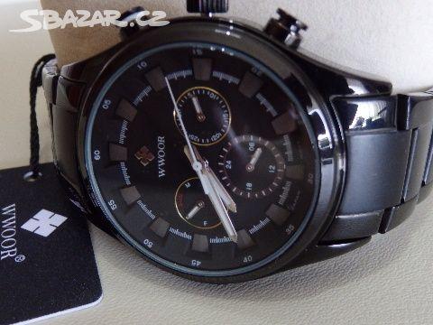 ee131565c Pánské hodinky značky- WWOOR- Japan - Prostějov - Sbazar.cz