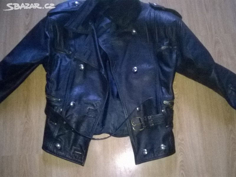 dámský kožený moto křivák 40 kožená bunda - Zlín - Sbazar.cz 4809449c377