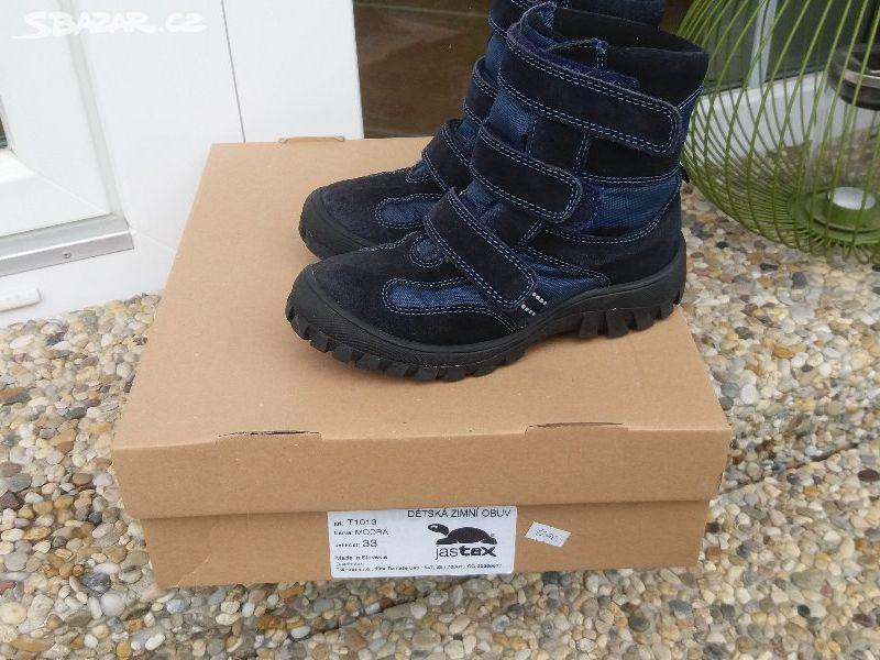 dcc4c68a580 Zimní boty Jastex vel.33 - jako nové - Vlašim