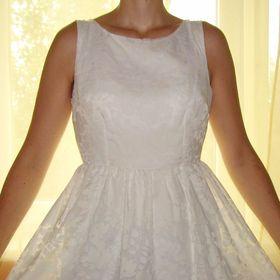 Inzeráty bílé šaty 40 - Společenské šaty bazar - Sbazar.cz 611ba60f60