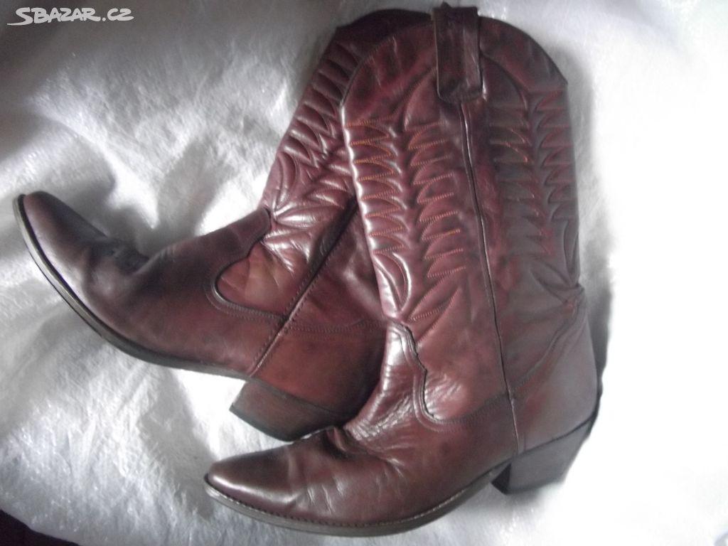 kovbojské boty Joe Sanchez 5f0e52c560