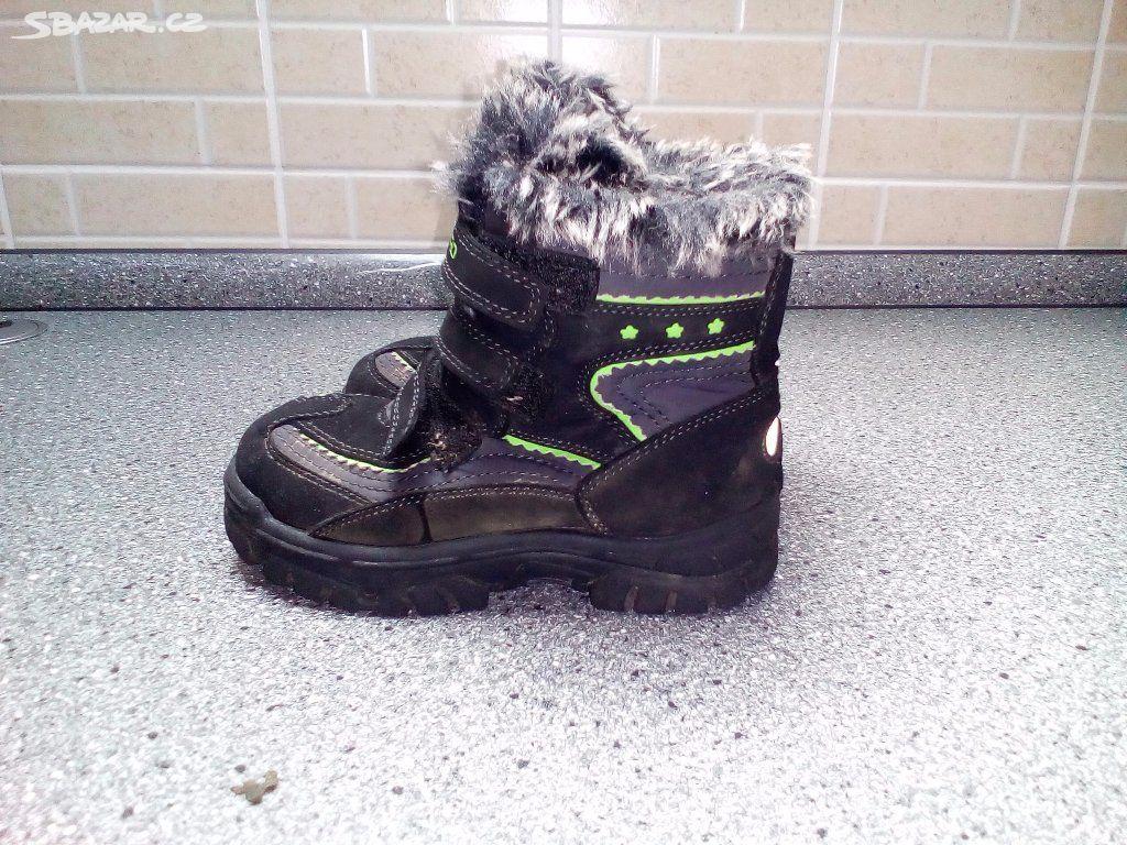 Dětská zimní obuv - Soutice f1201ac1c9