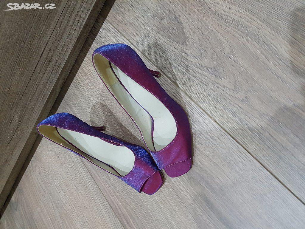 ecd087545495 fialové lodičky - Chomutov - Sbazar.cz