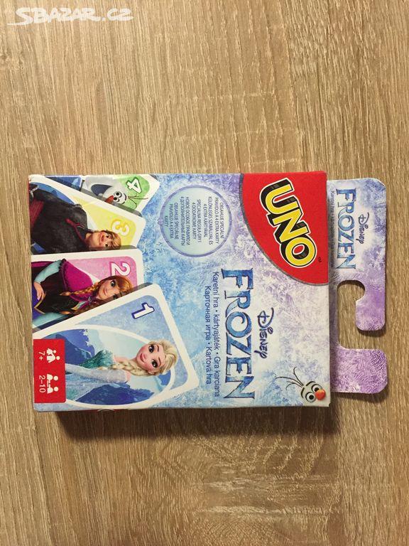 37274e69e Karty UNO Frozen - Mělník - Sbazar.cz