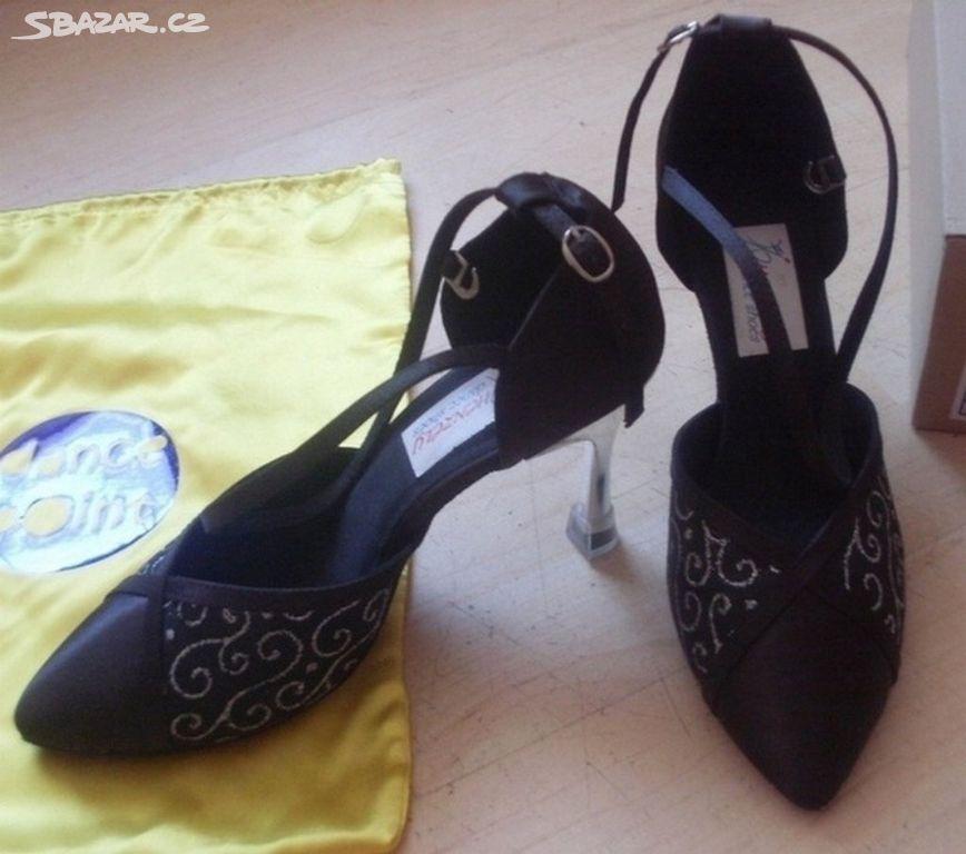6119bd1d9f0 Taneční dámské boty zn. Henzély vel. 25