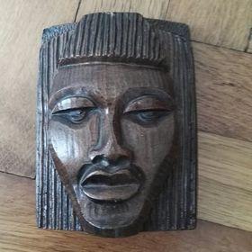 0a7efbfa663 Dřevěná maska. - Jistebník