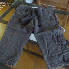 Dámské 3 4 capri kalhoty CaA  f1bb018a34