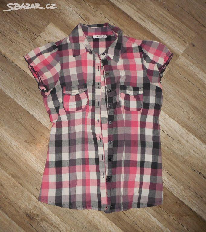 Košile s krátkým rukávem ORSAY vel.36 vel.S - Unhošť 8cda79c6a1