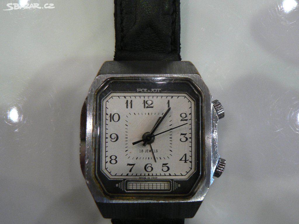Mechanické hodinky-Poljot s budíkem - Tábor - Sbazar.cz b31be0033d