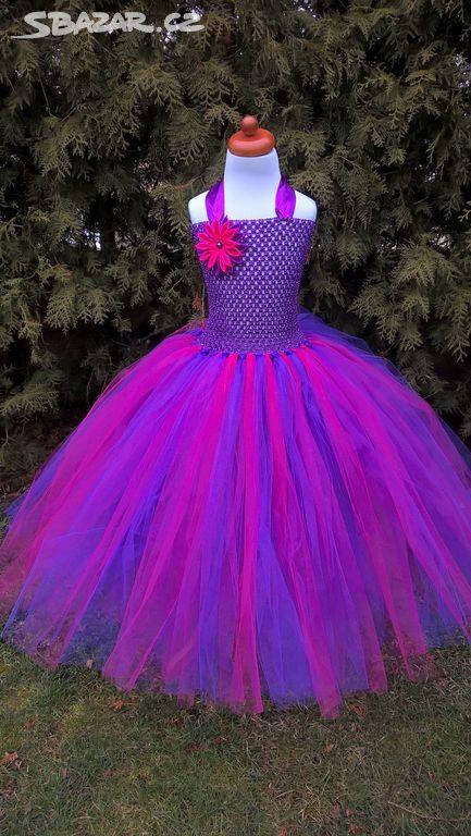 Tutu šaty fialovo-růžové - Znojmo - Sbazar.cz 2cca21b160