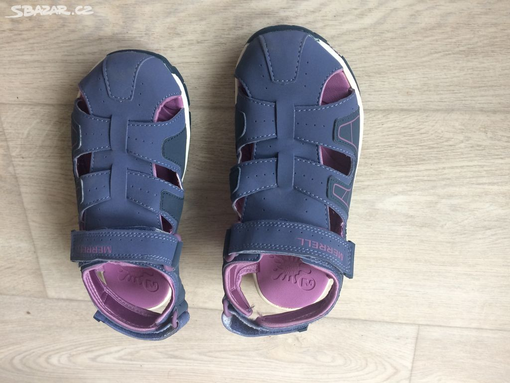 Prodám dětské sandály Merrell vel.34 - Pardubice - Sbazar.cz fc1ae6ea5e