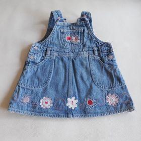 f4c47ff97049 Inzeráty Džínové šatičky - Oblečení pro děti od 1 do 3 let bazar ...