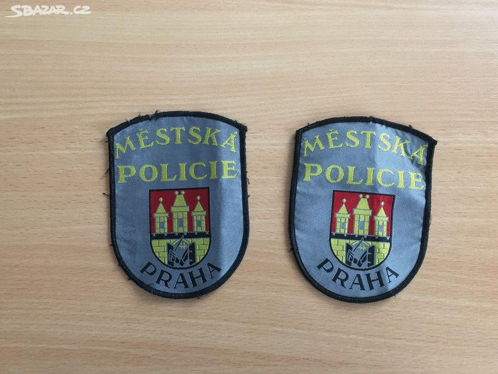 Prodám policejní nášivky - Nové Strašecí 9aa0726eb2