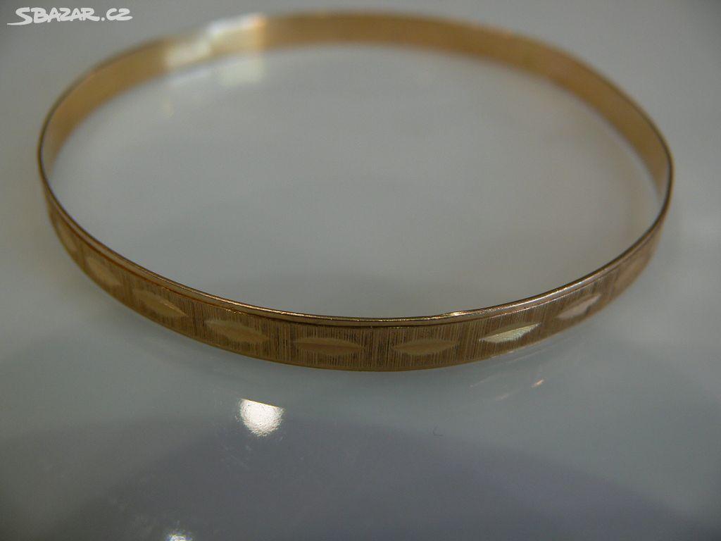Starožitný zlatý náramek 18 k.750-1000  19cb3f9dcb2