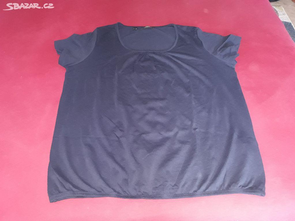 b7f373019539 NOVÉ - dámské tmavě modré tričko Bonprix 44 46 - Předboj