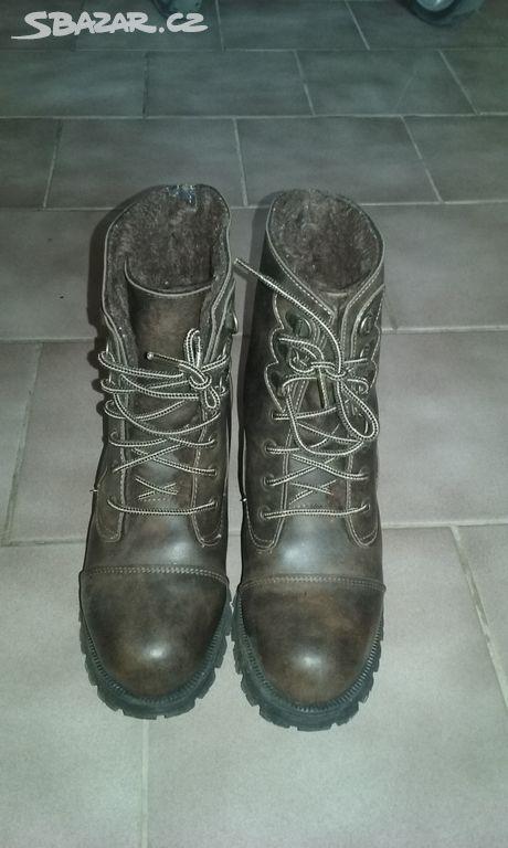 63a1efcee46 Dívčí kožené boty