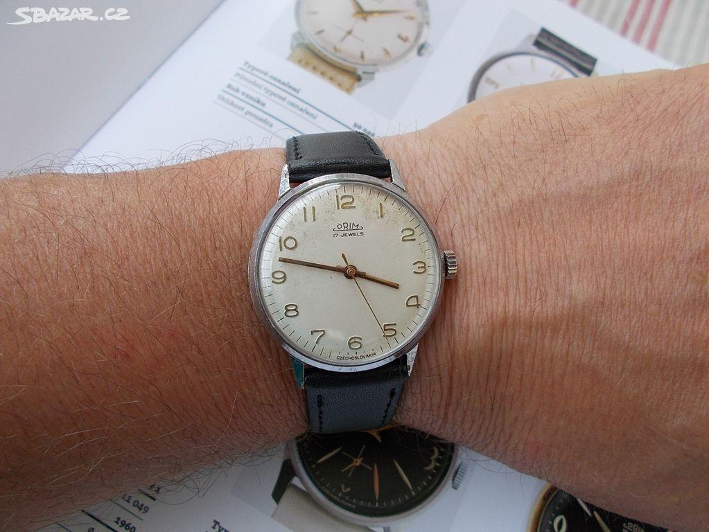 funkcni hodinky prim 17 jewels rok 1966 kal 66 - Pardubice - Sbazar.cz dfd616d216