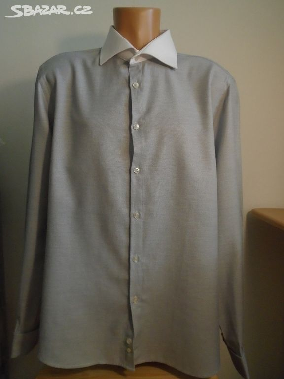 Pánská košile na manžety River Island XL 2x64cm - Stráž pod Ralskem ... 0221e4932f